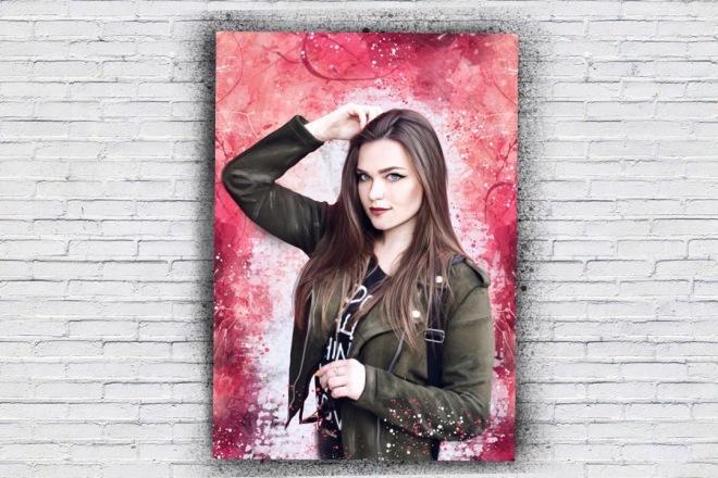 Портрет в стиле Дрим Арт по вашей фотографии 5 - kwork.ru