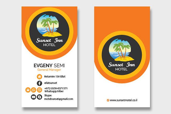 Сделаю дизайн-макет визитной карточки 2 - kwork.ru