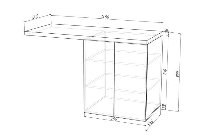 Конструкторская документация для изготовления мебели 53 - kwork.ru