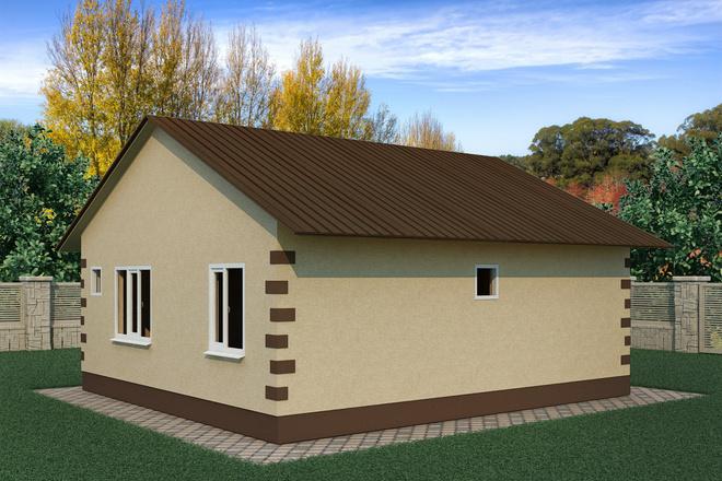 Визуализация домов 1 - kwork.ru