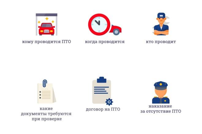Создам 5 иконок в любом стиле, для лендинга, сайта или приложения 12 - kwork.ru