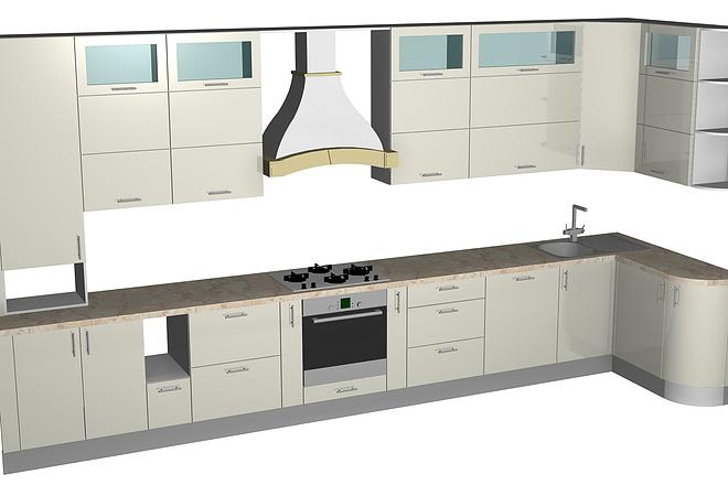 Конструкторская документация для изготовления мебели 120 - kwork.ru