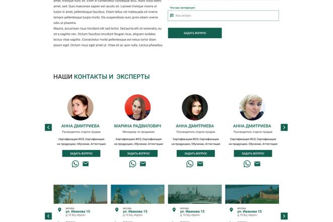 Уникальный дизайн сайта для вас. Интернет магазины и другие сайты 91 - kwork.ru
