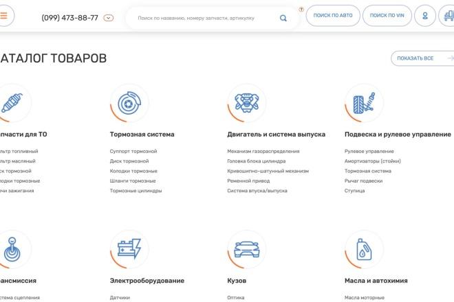 Вёрстка сайтов по доступной цене 195 - kwork.ru