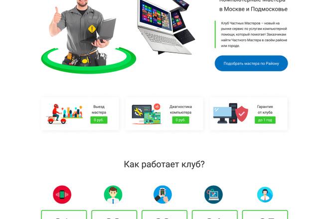 Landing на TILDA 6 - kwork.ru