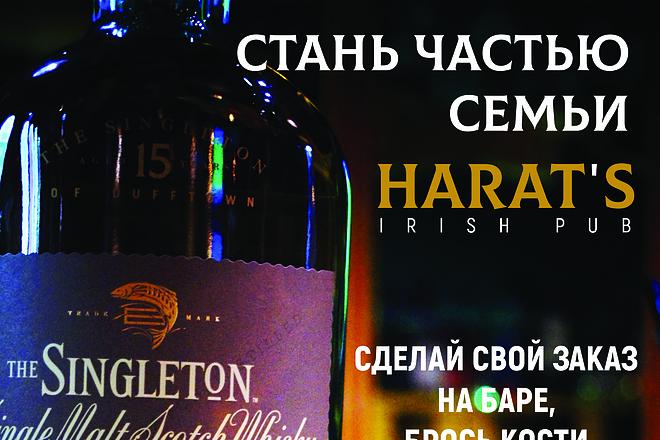 Дизайн афиш 4 - kwork.ru