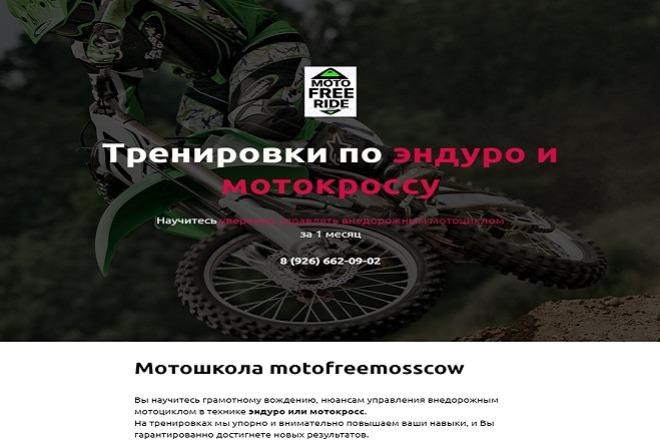 Скопирую Landing Page, Одностраничный сайт 5 - kwork.ru