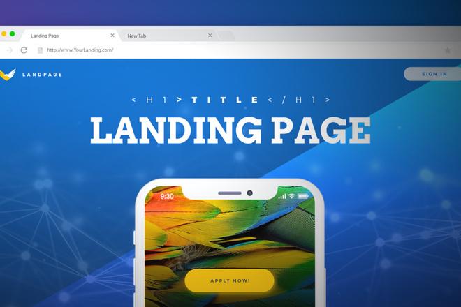 Вышлю коллекцию из 120 шаблонов Landing page 2 - kwork.ru