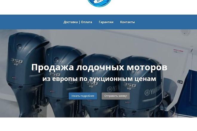 Скопировать Landing page, одностраничный сайт, посадочную страницу 98 - kwork.ru