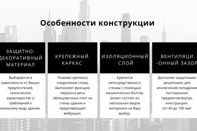 Стильный дизайн презентации 169 - kwork.ru