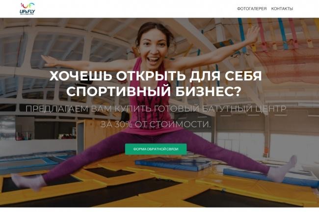 Создание одностраничника на Wordpress 182 - kwork.ru