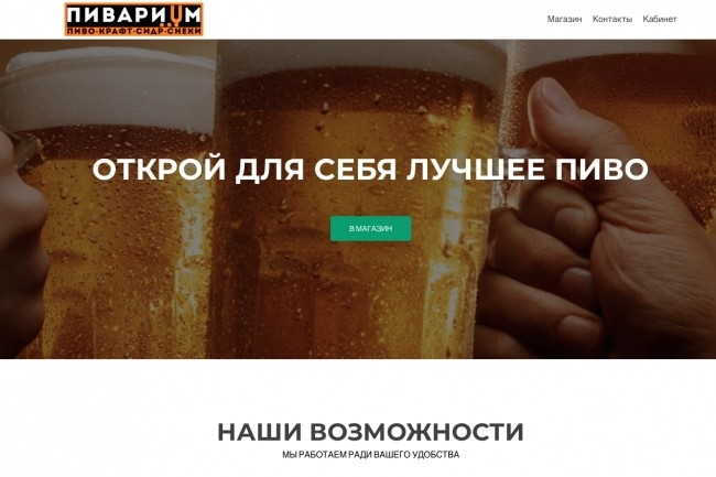 Создание одностраничника на Wordpress 178 - kwork.ru