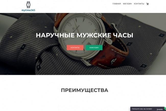 Создание одностраничника на Wordpress 165 - kwork.ru