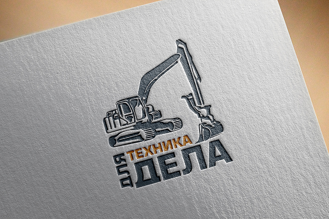 Уникальный логотип. Визуализация логотипа 25 - kwork.ru