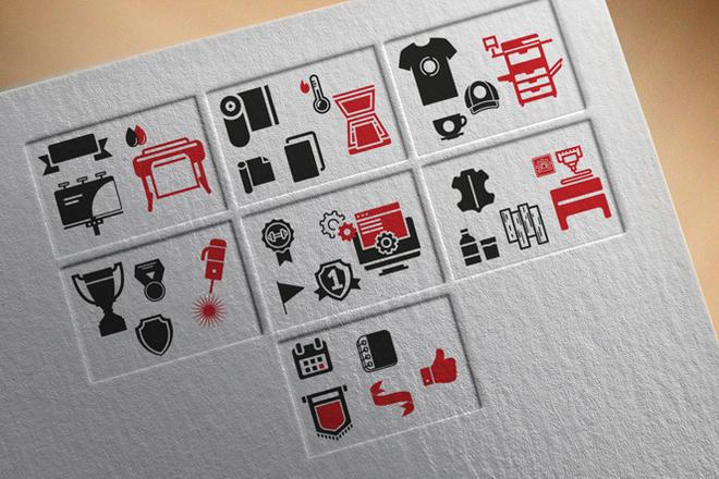 Нарисую иконки для сайта 42 - kwork.ru
