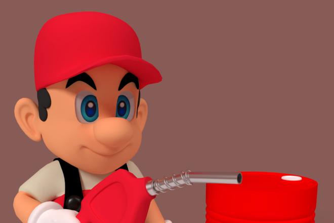 3D персонаж для игрового проекта 17 - kwork.ru