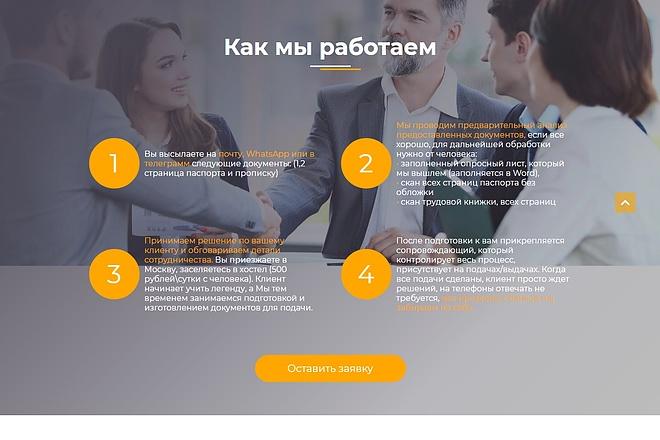 Сайт под ключ. Landing Page. Backend 195 - kwork.ru