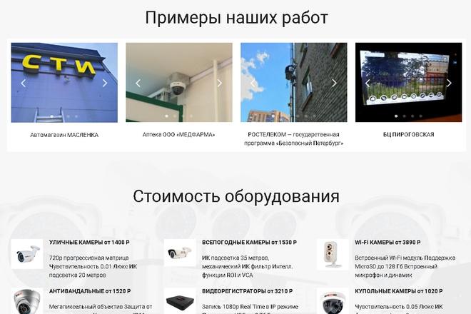 Копирование Landing Page и перенос на Wordpress 28 - kwork.ru