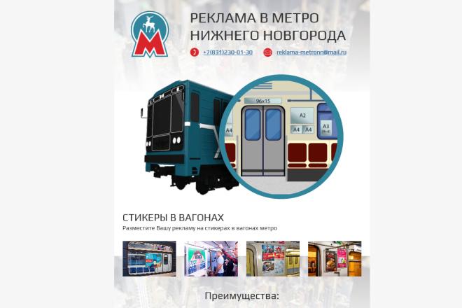 Создание и вёрстка HTML письма для рассылки 87 - kwork.ru