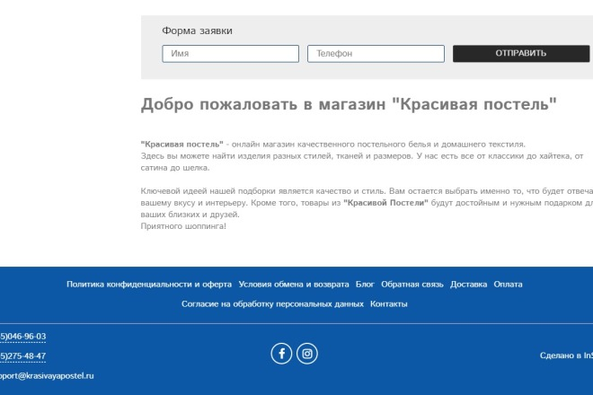 Профессионально создам интернет-магазин на insales + 20 дней бесплатно 24 - kwork.ru