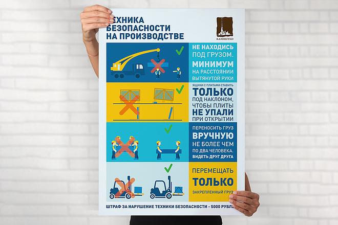 Разработаю дизайна постера, плаката, афиши 19 - kwork.ru