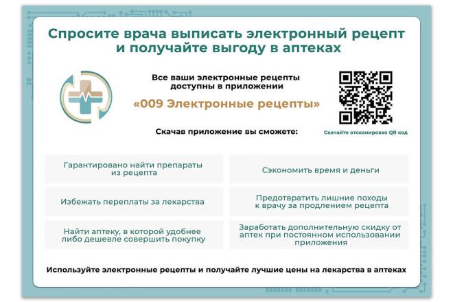Дизайн листовки, флаера. Макет готовый к печати 2 - kwork.ru
