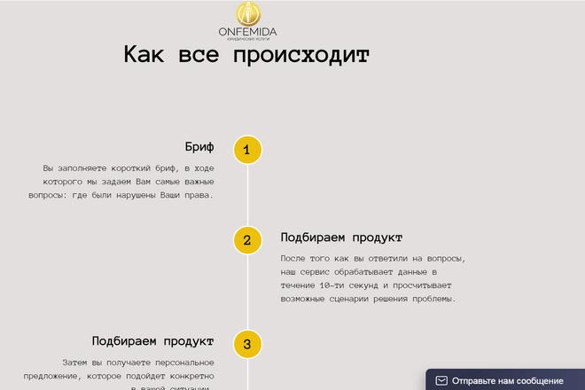 Создание сайтов на конструкторе сайтов WIX, nethouse 40 - kwork.ru