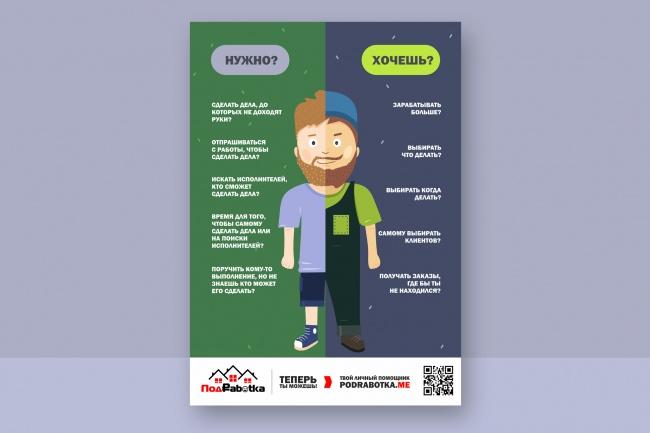 Разработаю дизайн флаера, акционного предложения 42 - kwork.ru