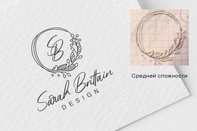 Логотип в векторе по вашему эскизу 3 - kwork.ru