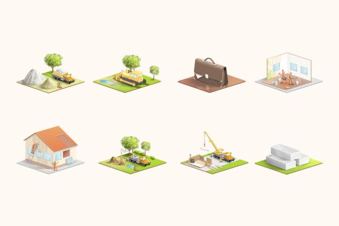 Нарисую эксклюзивную растровую иконку для вашего сайта 5 - kwork.ru
