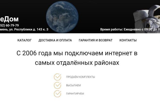 Создаю Лендинг на Тильде под ключ 14 - kwork.ru