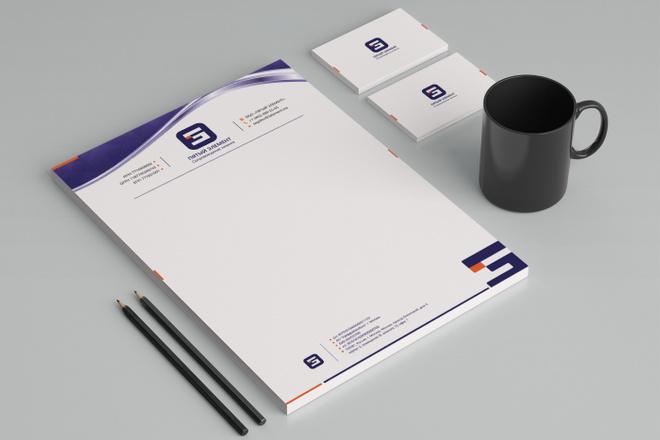 Создам фирменный стиль бланка 32 - kwork.ru