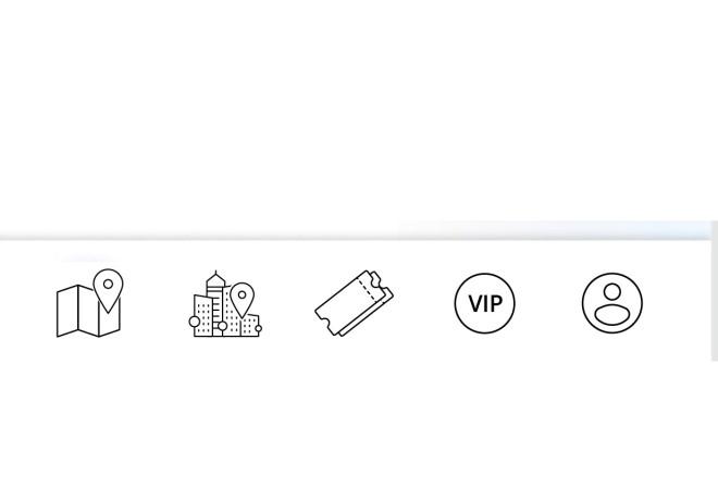 Нарисую векторные иконки для сайта, соц. сетей, приложения 3 - kwork.ru