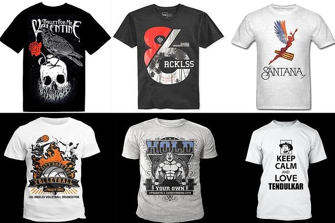 Дизайн футболки - оригинально, современно, остроумно 2 - kwork.ru