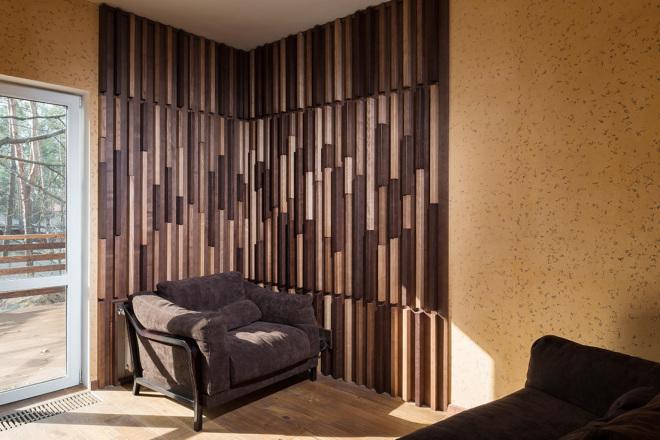 500 идей использования деревянных реек, баффели в интерьере 2 - kwork.ru