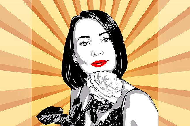 Качественный поп-арт портрет по вашей фотографии 17 - kwork.ru