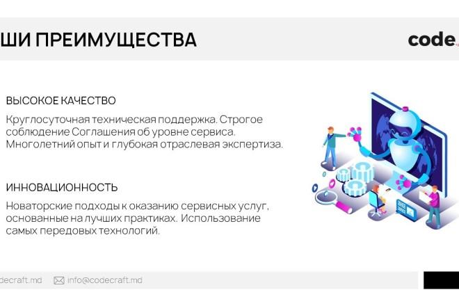 Красиво, стильно и оригинально оформлю презентацию 13 - kwork.ru