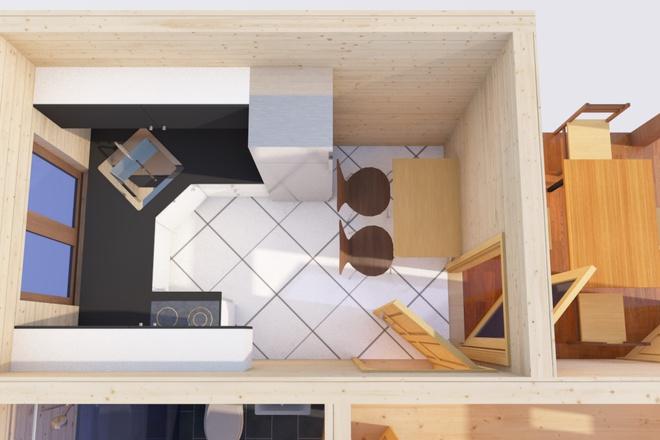 Оцифровка плана этажа, перечерчивание плана дома в Archicad 13 - kwork.ru
