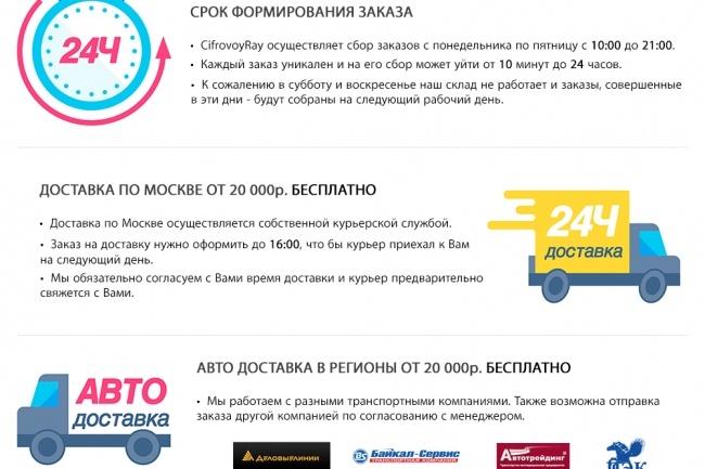 Сделаю копию сайта, Landing page, одностраничник, продающий сайт 10 - kwork.ru