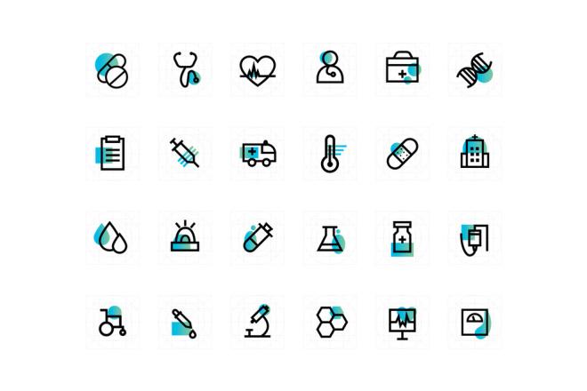 Векторная отрисовка растровых логотипов, иконок 39 - kwork.ru