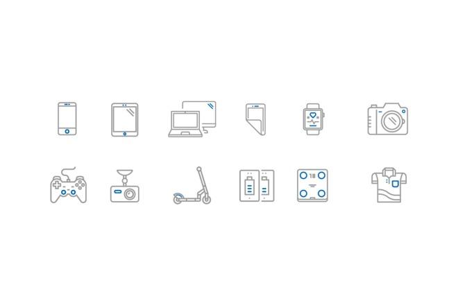 Создам 5 иконок в любом стиле, для лендинга, сайта или приложения 20 - kwork.ru