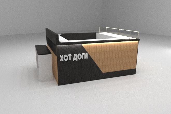 Сделаю 3D визуализацию Вашего помещения 2 - kwork.ru