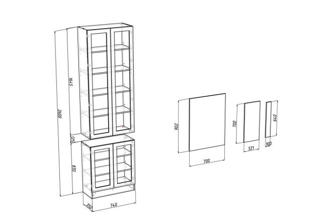 Конструкторская документация для изготовления мебели 54 - kwork.ru