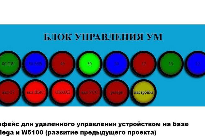 Разработаю код для устройства на основе плат Arduino и NodeMCU ESP12 10 - kwork.ru