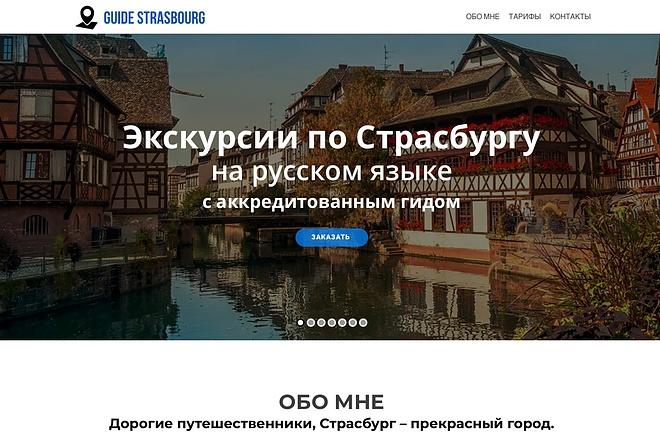 Создание одностраничника на Wordpress 26 - kwork.ru