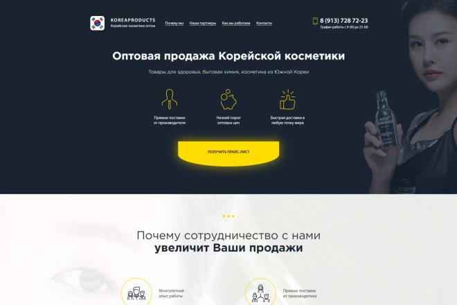 Продающий сайт - Лендинг под ключ, для любых целей 13 - kwork.ru