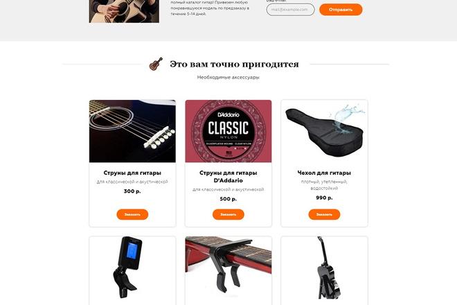 Создание современного лендинга на конструкторе Тильда 18 - kwork.ru