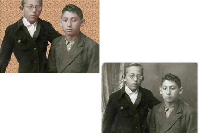 Восстановление старых фото, цветокоррекция, яркость, контрастность 2 - kwork.ru