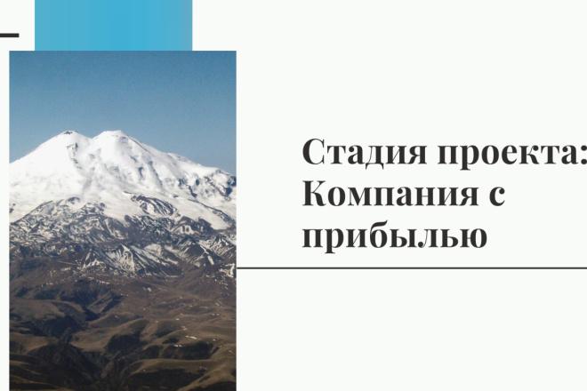 Стильный дизайн презентации 107 - kwork.ru