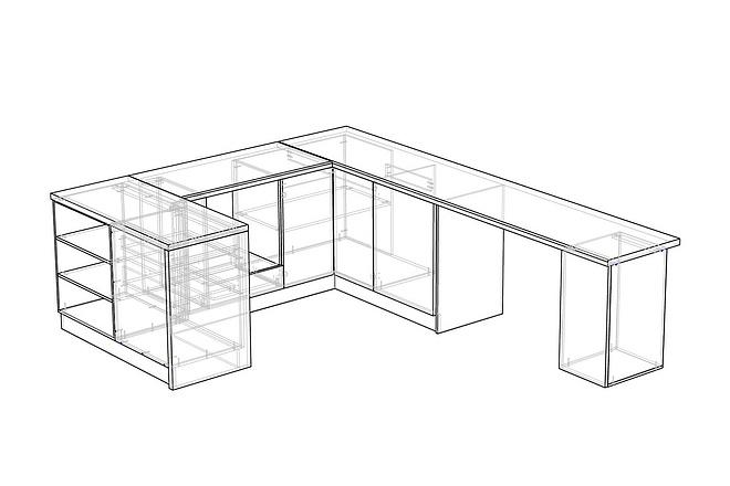 Конструкторская документация для изготовления мебели 110 - kwork.ru